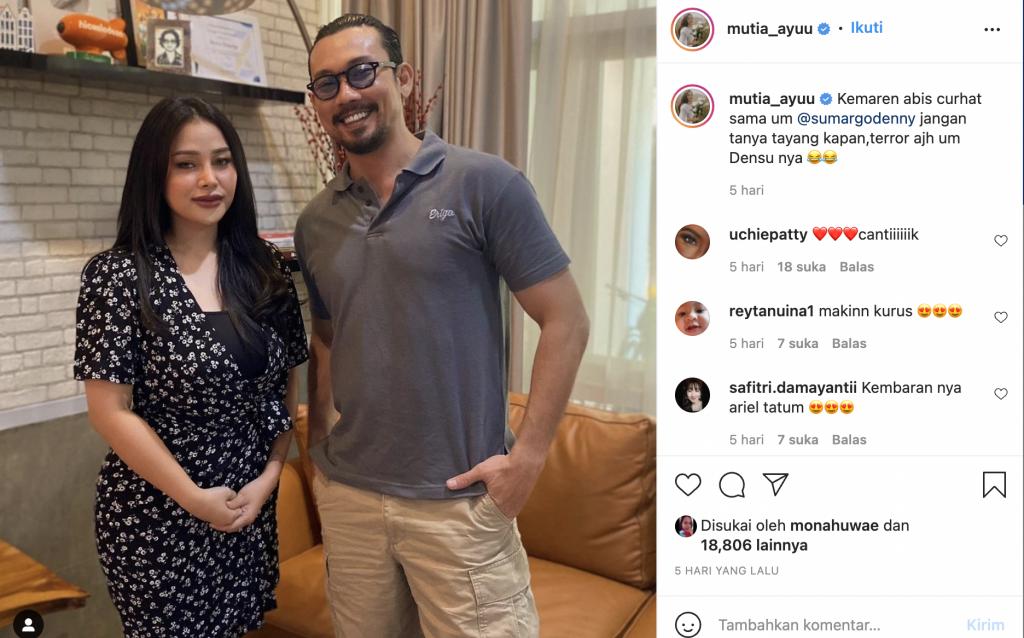 Mutia Ayu Pernah Jadi Model Majalah Dewasa, Takut Bilang ke Ortu